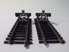 Fleischmann 6117 H0, 2 Prellböcke montiert auf 105 mm-Gleis 1700/02, MDM5