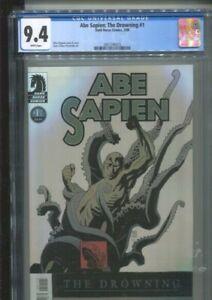 ABE SAPIEN: THE DROWNING 1 MIGNOLA COVER/STORY ALEXANDER ART CGC NEAR MINT 9.4