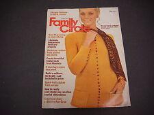 Family Circle Magazine June 1973 Fashions Knit Crochet Staying Young M1737