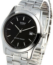 Casio MTP-1141A-1A Mens Analog Watch Stainless Steel Band Date Display New