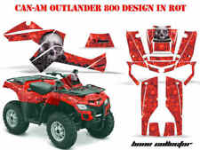 AMR RACING DEKOR KIT ATV CAN-AM OUTLANDER GRAPHIC KIT BONE COLLECTOR B