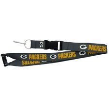 GREEN BAY PACKERS Breakaway Lanyard W/Keychain Clip Officially Licensed