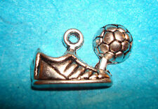 Soccer Ball & Shoes Sports Shoes Athletic Charms Soccer Mom