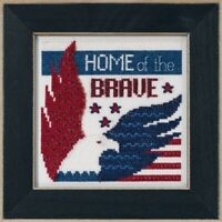 Mill Hill - Patriotic Quartet - Home of the Brave - Cross Stitch Kit - MH17-1913