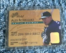 1995 DONRUSS STUDIO GOLD ROOKIE #18 ALEX RODRIGUEZ RC MARINERS