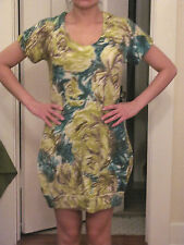 NWT Anthropologie by Moth Brona Floral Sweater Dress Vintage Sz XS