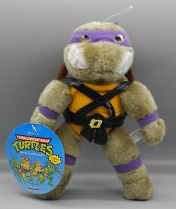1990 Playmates TMNT plush Teenage Mutant Ninja Turtles DONATELLO stuffed figure