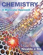 Chemistry, A Molecular Approach By Nivaldo J Tro, 4th Edition
