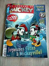 LE JOURNAL DE MICKEY  N° 3574 - 16 DECEMBRE  2020 / JOYEUSES FÊTES A MICKEYVILLE