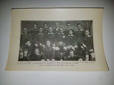 Yale University 1912 Soccer Team Picture RARE