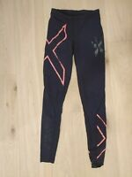 2XU tights Compression Gym Leggings Running Bottom Women's Size ST