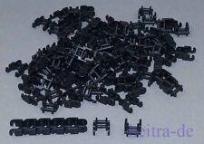 LEGO Technik - 100 x Kettenglied, klein, schwarz / Kettenglieder / 3711 NEUWARE