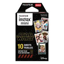 1 Pack 10 Photos Disney Star Wars FujiFilm Fuji Instax Mini Film Polaroid Liplay