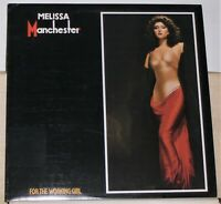 Melissa Manchester - For The Working Girl - Original 1980 LP Record Album