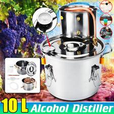 10L 2Gal Casa Alambicco Distillatore Temperatura Distillatore Acqua Oli Essenzia