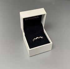 Pandora Zigzag ring size 9 / with Box