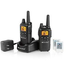 Walkie Talkie Two Way Radio 2 Set Portable 36 Channels Gmrs Noaa 26 Miles Range