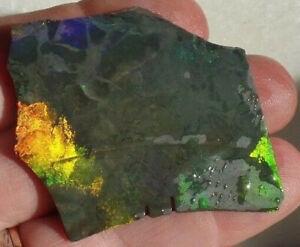 Andamooka treated opal thin slab inlay jewellery jewelry lapidary  - TB256