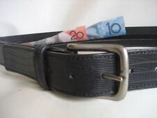 Leather Animal Print Belts for Women