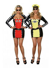 Drive Me Crazy Sexy Taxi Driver Racecar 2-IN-1 Plus Size Adult Costume 1X/2X