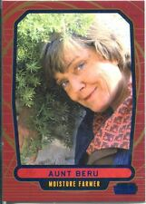 Star Wars Galactic Files Blue Parallel #103 Aunt Beru