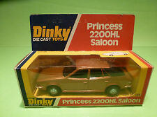 DINKY TOYS 123 PRINCESS 2200HL SALOON -COPPER- RARE SELTEN - GOOD COND. IN BOX