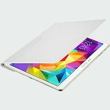 """GENUINE Samsung Flip Cover Galaxy TAB S 10.5"""" Case Simple WHITE Screen Protector"""