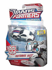 NEW SEALED Transformers Animated Deluxe Autobot Jazz prime g1 g2 moc