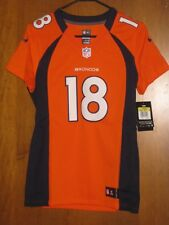 NEW NIKE STITCHED PEYTON MANNING DENVER BRONCOS JERSEY WOMENS SMALL  $145