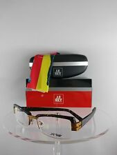 Brand New Authentic J.F. REY Eyeglasses JF2424 0552 Tortoise 52mm 2424