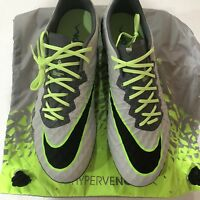 Nike Hypervenom Phinish ACC FG Soccer Cleat Gray 749901 004 Mens 7 NEW $200