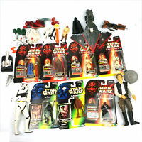 Star Wars Collectible Lot - Kenner, Hasbro Action Figures THG