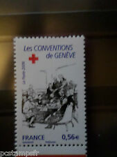 FRANCE 2009, timbre 4389, CROIX ROUGE CONVENTION GE neuf** MNH STAMP RED CROSS
