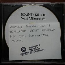 Bounty Killer ‎– Next Millennium  Promo Advanced Rough Cuts  CDr  Edel UK 1998