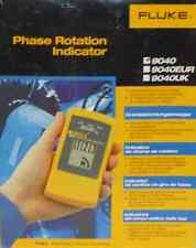 Fluke 9040 3 Phase Rotation Indicator with Clear LCD Display, 700V Voltage New