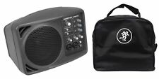 New Mackie SRM150 Powered Active PA Monitor Speaker + SRM-150 Travel Bag