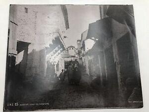 PHOTOGRAPHIE LEROUX Algérie Constantine.Quartier Arabe des Forgerons 1895