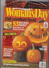 WOMAN'SDAY MAGAZINE OCT'12, HOLIDAY SPECIAL 2 FOR 1 PRICE 75th ANNIVERSARY ISSUE