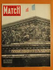 La Chambre de l'An Neuf-La cible des Fellagha- Paris Match N° 352 du 7/1/1956