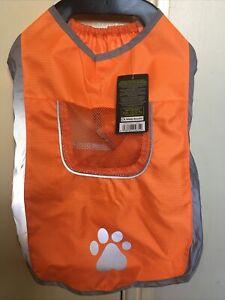 High Vis Dog Coat Vest Pet Safety Reflective Hi Viz - DOG REFLECTIVE VEST  SMALL