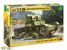 Zvezda 3542 T-26 Model 1932 - Soviet Light Tank - 1:35