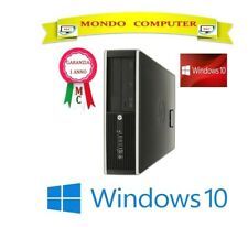 COMPUTER  HP 8000 ELITE  S.F.F / CPU INTEL DUAL CORE 3,0 GHZ / WINDOWS 10 PRO