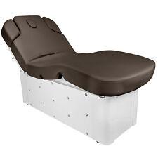 Massageliege Behandlungsliege Wellnessliege 370-3 braun Kristalle elektrisch