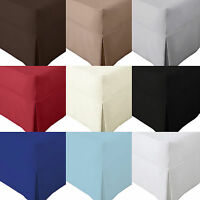 Details about  /30cm Deep Luxury Percale PolyCotton Fitted Sheet Single Double King Super King