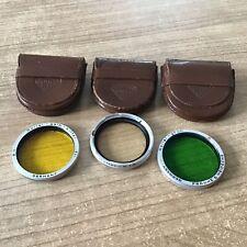 Rollei Rolleiflex Baj.II   3tlg.Filterset