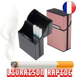 Fumer Cigarettes Étui En Aluminium Cigare Tabac Poche Boîte Conteneur Protection