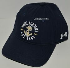 New With Tags   Under Armour Naval Academy Hat    Navy Blue