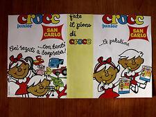 Depliant Pubblicitario Patatine San Carlo Crocc Junior 1968 [AF-26]
