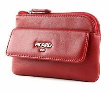 PICARD Bingo Key Case Schlüsselmäppchen Geldbörse Red Rot Neu