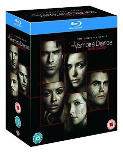 The VAMPIRE DIARIES COMPLETE SERIES SEASON 1-8 COLLECTION BLU RAY DISC SET NEW